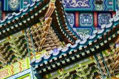 chińscy budynki zdjęcie royalty free