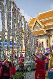 Chińscy nowy rok świętowania Bangkok, Tajlandia - obraz royalty free