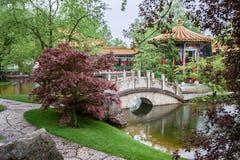 Chińscy ogródy Zurich Zdjęcia Stock