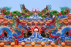 chińscy smoki Obrazy Royalty Free