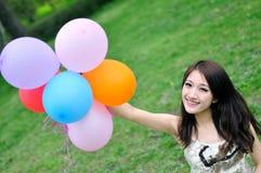 Chińska ładna dziewczyna Zdjęcie Stock