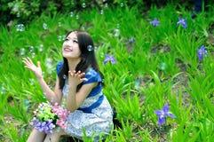 Chińska ładna dziewczyna Obraz Royalty Free