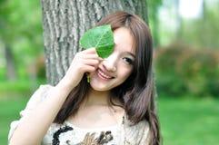 Chińska ładna dziewczyna obrazy stock
