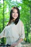 Chińska ładna dziewczyna obrazy royalty free