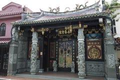 Chińska świątynia na ulicach Melaka miasteczko, Malezja Zdjęcia Royalty Free
