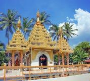 Chińska świątynia na wyspie Penang Zdjęcie Stock