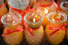Chińska świeczka Zdjęcie Stock