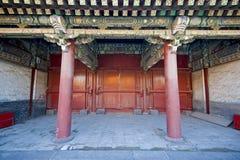 Chińska antyczna brama Obraz Royalty Free