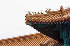 Chińska architektura zdjęcia stock