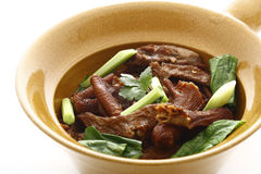 chińska brokuł piec kaczka Zdjęcie Stock