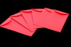 Chińska czerwieni kieszeń zdjęcie stock