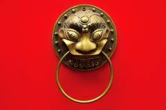 Chińska drzwiowa rękojeść obrazy stock