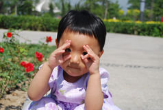 chińska dziewczyna Obrazy Stock