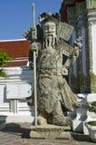 Chińska gigantyczna statua przy Wata Pho świątynią Zdjęcie Royalty Free