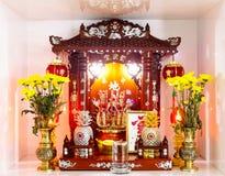 Chińska gospodarstwo domowe świątynia Zdjęcia Stock