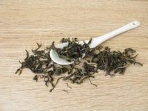 Chińska herbaciana biel małpa Zdjęcie Royalty Free
