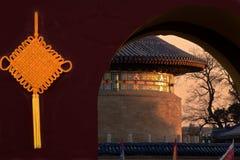 chińska kępka zdjęcie stock