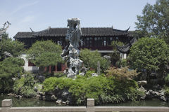 Chińska Klasyczna architektura Zdjęcie Royalty Free
