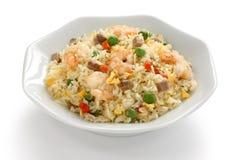 chińska kuchnia smażył ryż stylowy Yangzhou Zdjęcia Stock
