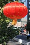 chińska latarniowa czerwień Zdjęcie Stock