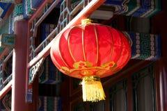 chińska latarniowa czerwień Obraz Royalty Free