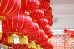 chińska latarniowa czerwień Obraz Stock