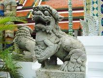 chińska lew posąg Fotografia Royalty Free
