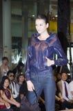 chińska moda modeluje Shenzhen tydzień Obrazy Royalty Free