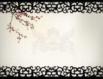 Chińska nadokienna rama Obrazy Stock
