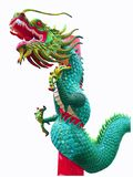 Chińska nowego roku smoka dekoracja na białym tle zdjęcia royalty free
