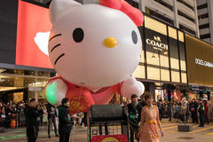 Chińska nowy rok nocy parada obraz royalty free