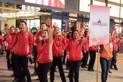 Chińska nowy rok nocy parada zdjęcie stock