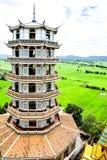 Chińska pagoda przy Watem Tham Khao Noi obraz royalty free