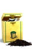 chińska pudełkowata liści herbaty zdjęcia stock
