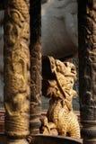 Chińska rzeźba w chińskiej świątyni fotografia royalty free