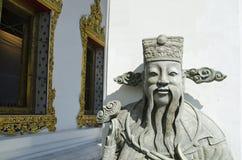 Chińska statua przy wata pho świątynią Obraz Stock