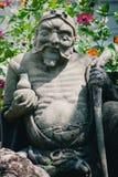 Chińska statua przy Wata Phra Kaew pałac, także znać jako Szmaragdowa Buddha świątynia bangkok Thailand obrazy royalty free