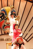Chińska taniec sztuka Obrazy Stock