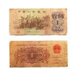 chińska waluta Fotografia Stock