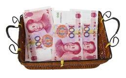 chińska waluta Zdjęcia Stock