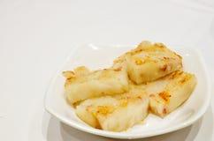 Chińska zakąska, smażący warzywo tort Fotografia Royalty Free