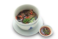 Chińska ziołowa polewka (Bak Kut) Zdjęcie Stock