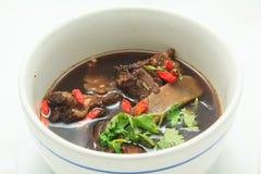 Chińska ziołowa polewka (Bak Kut) Zdjęcie Royalty Free