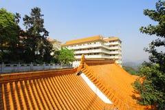 Chiński świątynia dach Obraz Royalty Free