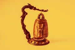 Chiński Świątynny dzwonkowy mały zdjęcia royalty free