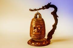 Chiński Świątynny dzwonkowy mały zdjęcie stock