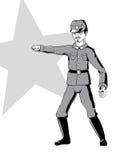 chiński żołnierz ww2 ilustracji