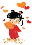 chiński 2 dziewczyna trochę Zdjęcia Royalty Free