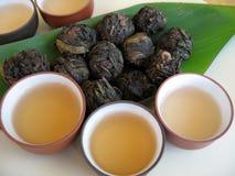 chiński 2 herbaty. obrazy royalty free