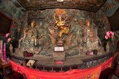 Chiński bóg blisko smok bramy w Kumming mieście Zdjęcia Stock